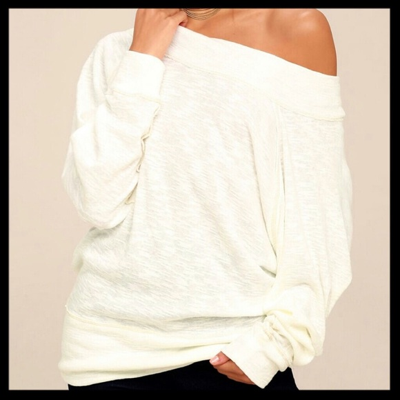 d6434121f4a51 Free People Tops - Free People Palisades Off Shoulder Top